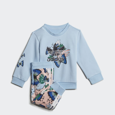 Mädchen Originals HER Studio London Animal Flower Print Set Blau