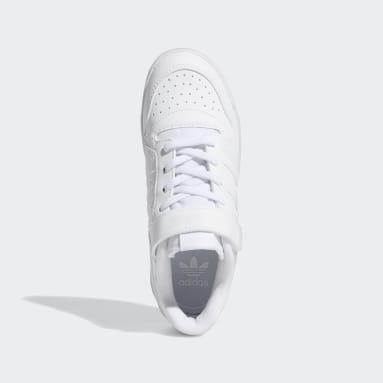 Children Originals White Forum Low Shoes