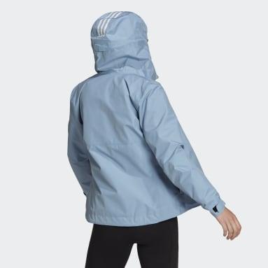 Giacca con cappuccio GORE-TEX Paclite 2L Rain Blu Donna City Outdoor