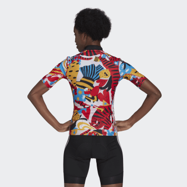 Women Cycling Red The Egle Cycling Jersey