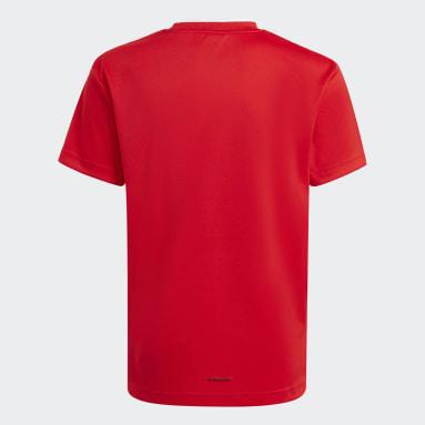 красный Футболка Salah AEROREADY