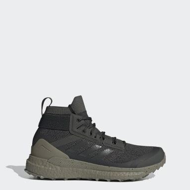 Women TERREX Green Terrex Free Hiker Parley Hiking Shoes