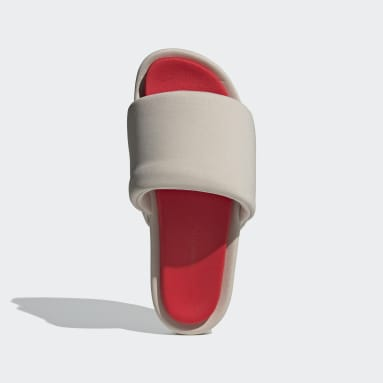 Y-3 béžová Pantofle Y-3