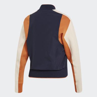 Frauen Sportswear VRCT Jacke Blau