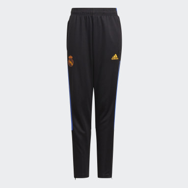Pantaloni da allenamento Tiro Real Madrid Nero Bambini Calcio
