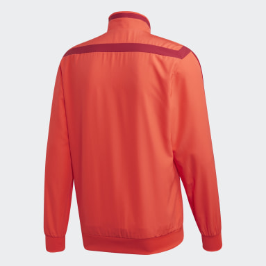 FC Bayern Presentation Jacket Czerwony