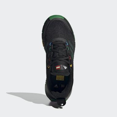 Children Running Black adidas x LEGO® Sport Shoes
