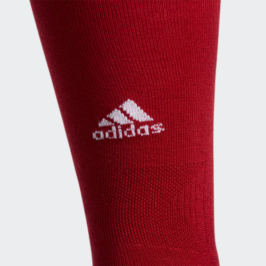 Baseball Red Utility OTC Socks