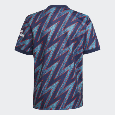 Kinderen Voetbal Blauw Arsenal 21/22 Derde Shirt