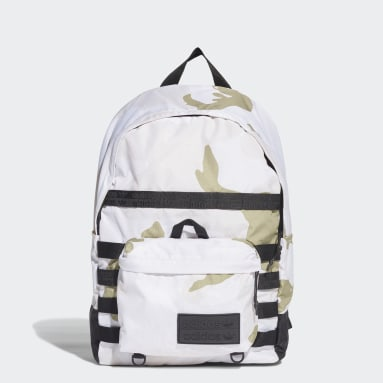 Youth 8-16 Years Originals White R.Y.V. Allover Print Backpack