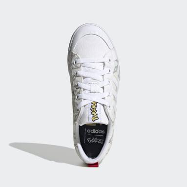 Kids Sport Inspired White Bravada Shoes