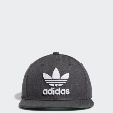 Men's Originals Grey Trefoil Chain Snapback Hat