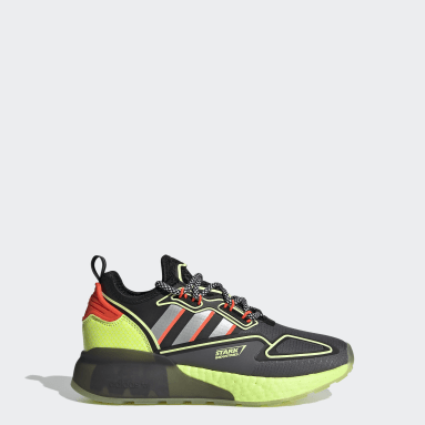 Youth 8-16 Years Originals Grey ZX 2K Boost Marvel Shoes