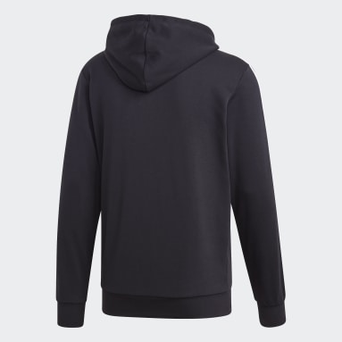 Heren Sportswear Zwart Essentials 3-Stripes Trainingsjack