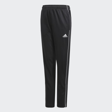 Youth Soccer Black Core 18 Training Pants
