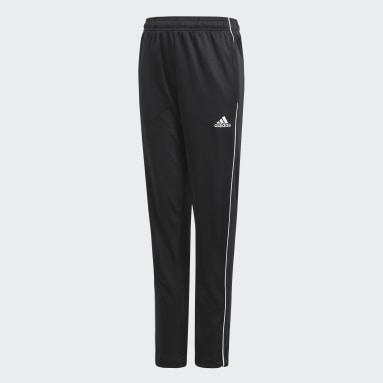 Training Pants Core 18 noir Adolescents Soccer