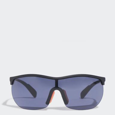 Occhiali da sole SP0003 Shiny Black Injected Sport Nero Padel Tennis