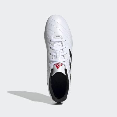 Calzado de Fútbol Goletto VII Terreno Firme Blanco Hombre Fútbol