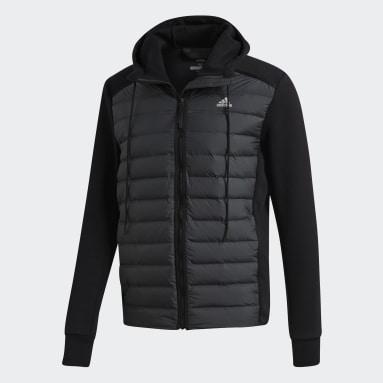 Men City Outdoor Black Varilite Hybrid Jacket
