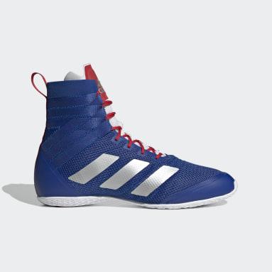 Training Blue Speedex 18 Boxing Shoes