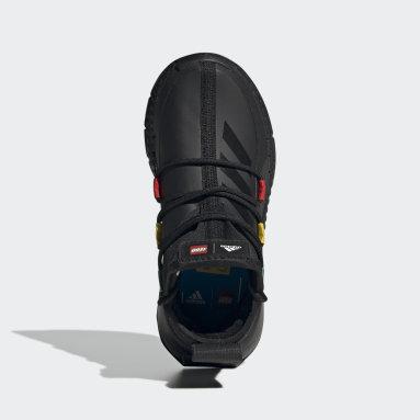 Børn Løb Sort adidas x LEGO® Sport Mid sko