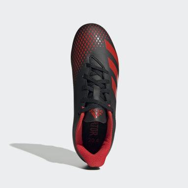Kids Football Black Predator 20.4 Flexible Ground Boots