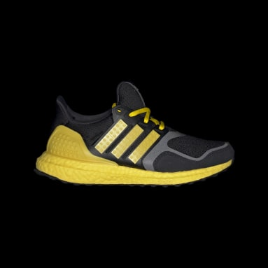 เด็ก วิ่ง สีดำ รองเท้า adidas Ultraboost DNA x LEGO® Colors