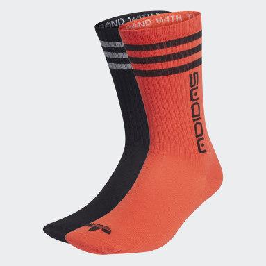 Originals Black Symbol Crew Socks 2 Pairs