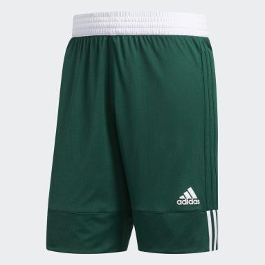 Heren Basketbal Groen 3G Speed Reversible Short