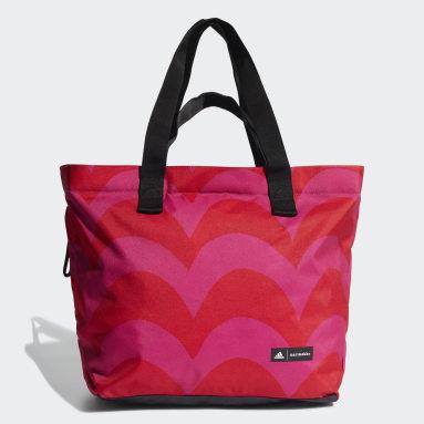 Kvinder Studio Pink Marimekko Laine Print tote-taske