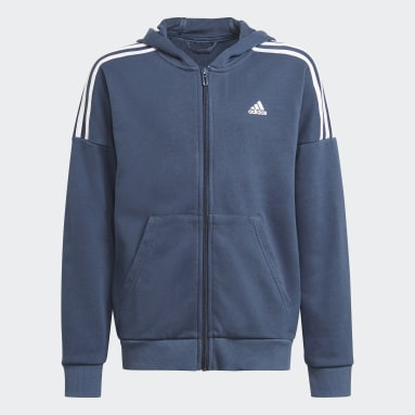 Youth 8-16 Years Gym & Training Blue Tracksuit