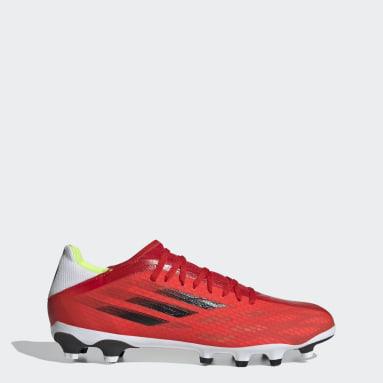 Calzado de Fútbol X Speedflow.3 Multiterreno Rojo Fútbol