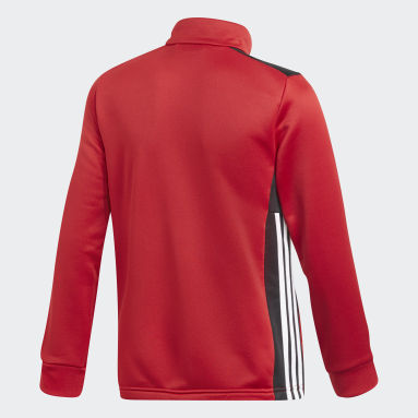 Youth 8-16 Years Gym & Training Red Regista 18 Track Top