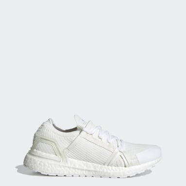 ผู้หญิง วิ่ง สีขาว รองเท้า adidas by Stella McCartney Ultraboost 20