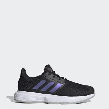 Women Tennis Black GameCourt Tennis Shoes