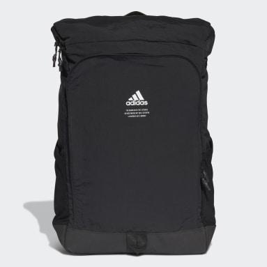 Fitness Og Træning Sort Classic Boxy rygsæk