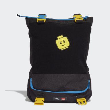 Kinderen Fitness En Training Zwart adidas x LEGO® Baumhaus Convertible Tas