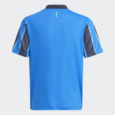 Camiseta segunda equipación Ajax 21/22 Azul Niño Fútbol