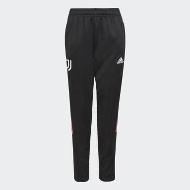 Pantaloni da allenamento Tiro Juventus Nero Bambini Calcio