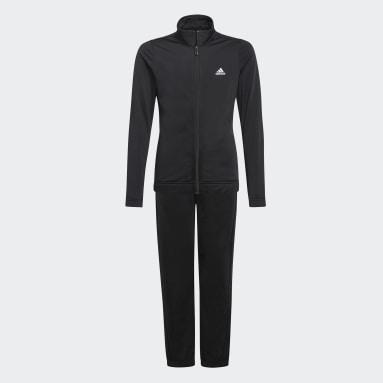 Mädchen Sportswear adidas Essentials Trainingsanzug Schwarz