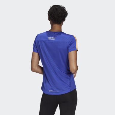 Berlin Marathon Event Tee Niebieski