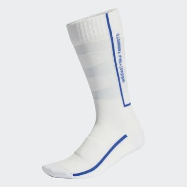 Y-3 White Y-3 Classic Logo Socks