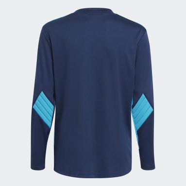 Camiseta portero Squadra 21 Azul Niño Fútbol