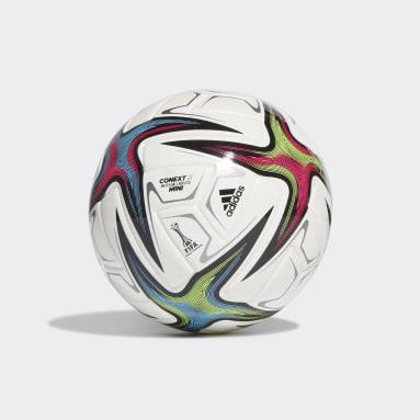 Men's Soccer White Conext 21 Mini Ball