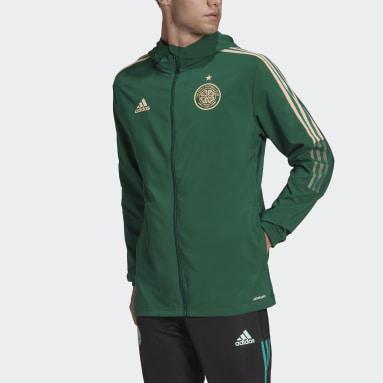 Celtic FC Tiro Presentasjonsjakke Grønn