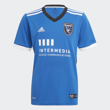 Youth Soccer Blue San Jose Earthquakes 21/22 Home Jersey