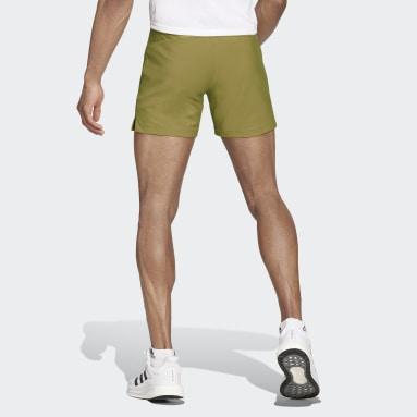 Men Running Green Run It Shorts