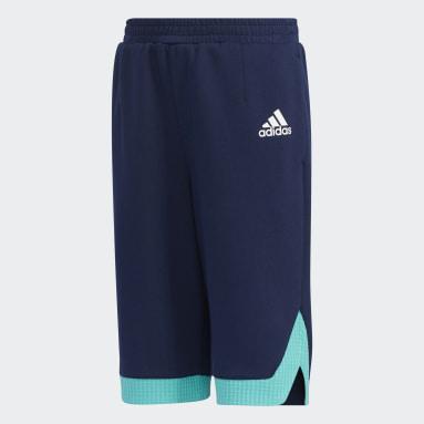 Kids Training Blue Training Essentials Knit Shorts