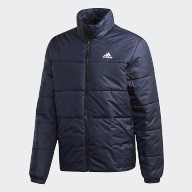 Chaqueta BSC Insulated Winter Jacket 3 bandas Azul Hombre Outdoor Urbano