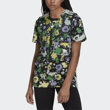 Chaleco Reversible Floral Utility Negro Mujer Originals